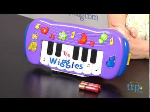 The Wiggles Musical Keyboard from Wicked Cool Toys