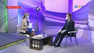 Новый министр здравоохранения Хакасии Виктор Шевченко - в