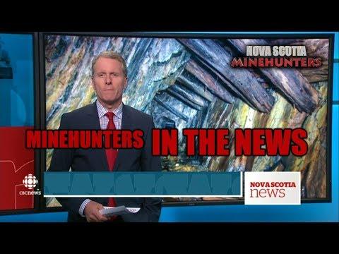 Ep.34  NOVA SCOTIA MINEHUNTERS IN THE NEWS