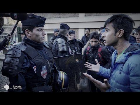 PARIS • RAFLES : LES AFGHANS SE RÉVOLTENT POUR RÉCUPÉRER LEURS AFFAIRES