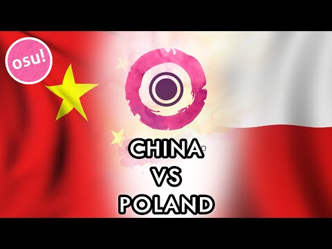 osu! World Cup 2015 - Semifinals | China vs Poland w/ Twitch Chat