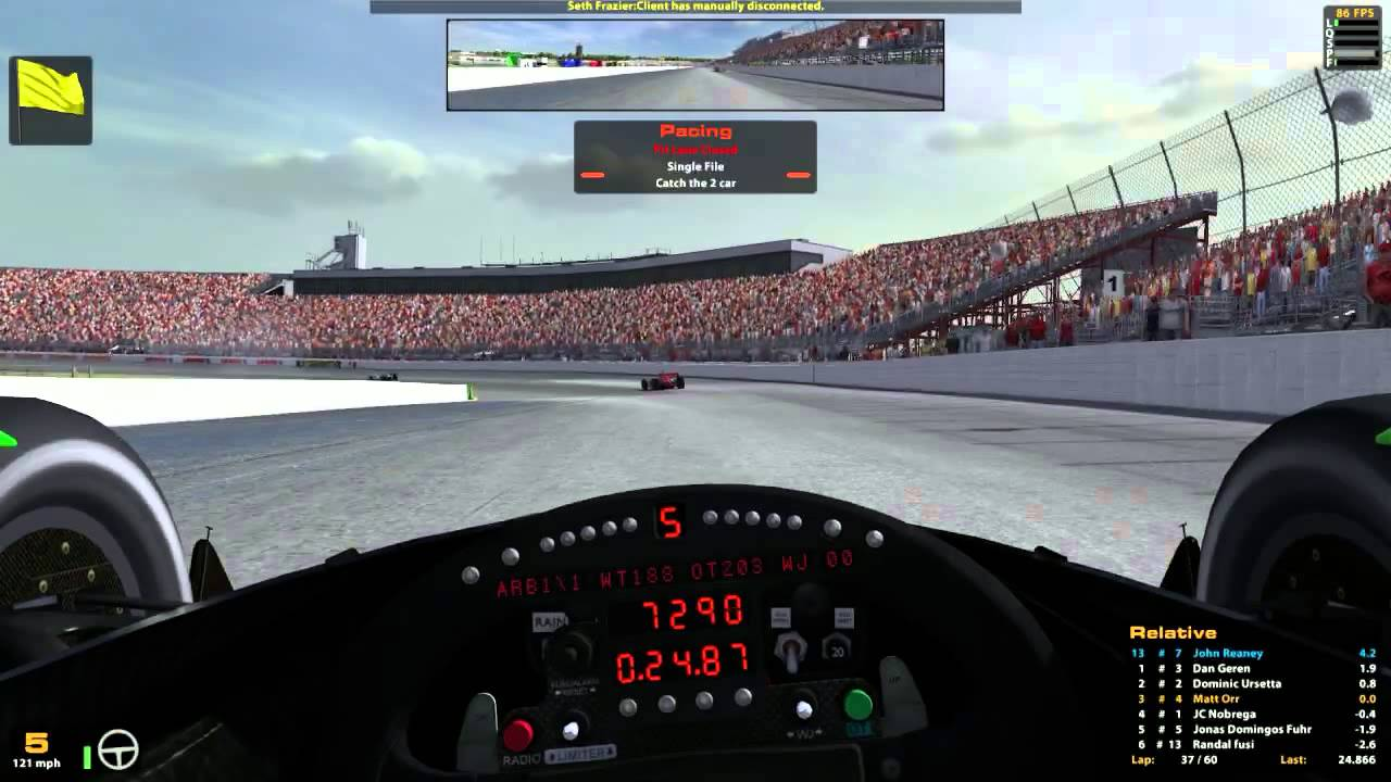 iRacing : Bit of Weight Jacker and a 7th Gear (Indycar Fixed @ NHMS ...