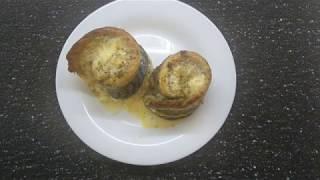 Скумбрия запеченная в духовке в виде рулетов с сыром Без единой косточки