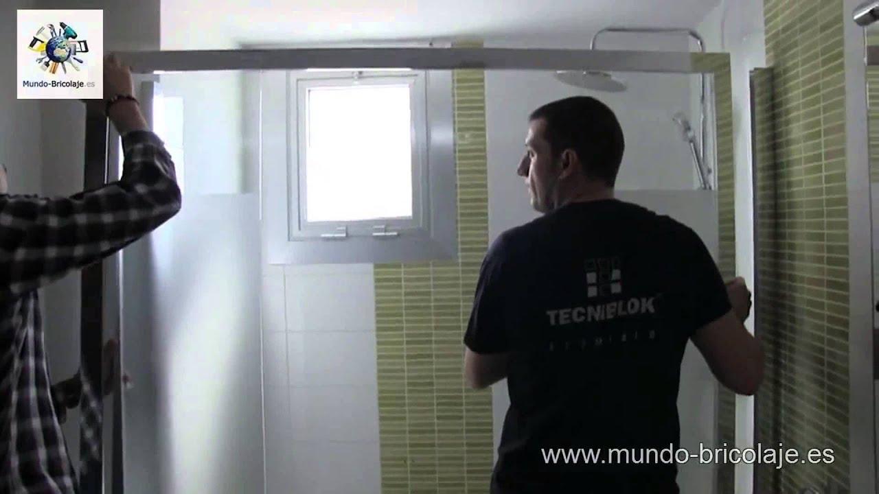 C mo instalar una mampara de ba o o ducha paso a paso - Instalar una mampara de ducha ...