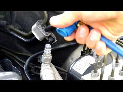 How to recharge Mercedes-Benz AC System - Easy Steps - YouTube