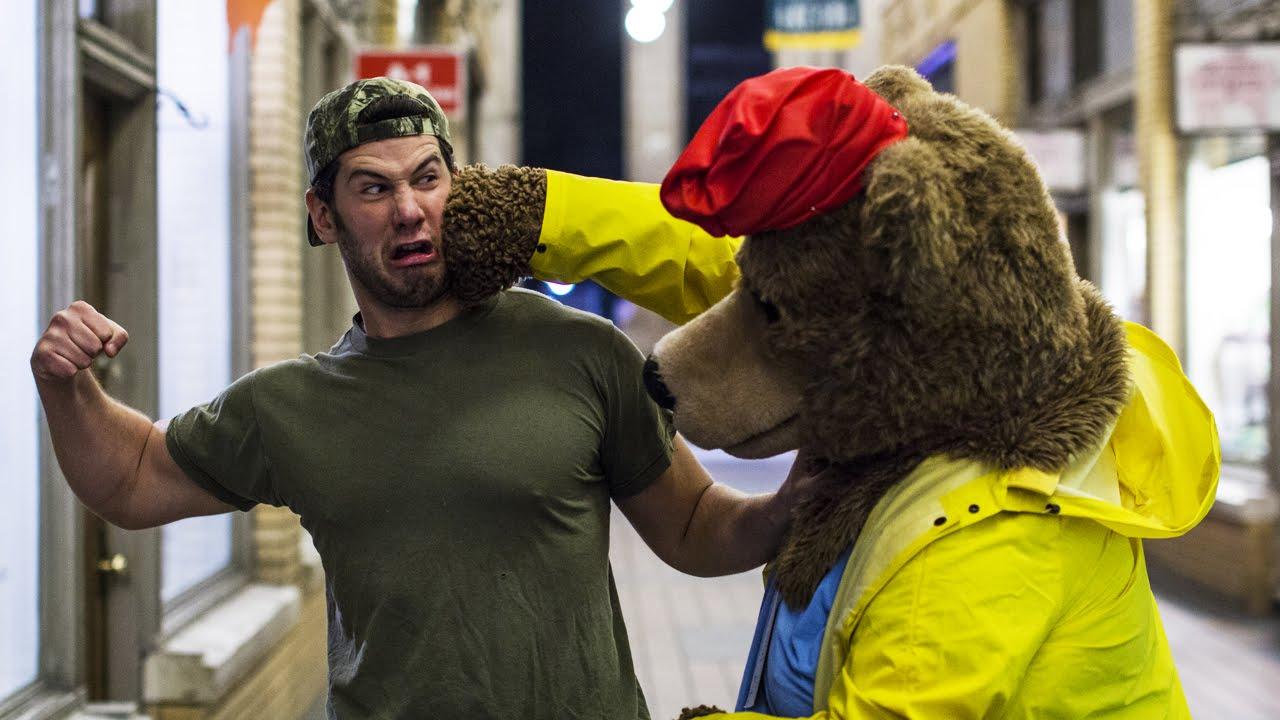 American Sniper vs. Paddington Bear (University of Michigan)
