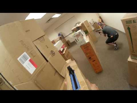 Nerf Rival Office War - 8/1/2016 (Kyle)