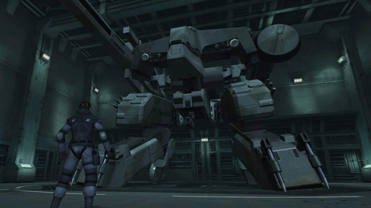 Metal Gear Solid Twin Snakes: Metal Gear Rex Boss Fight - YouTube