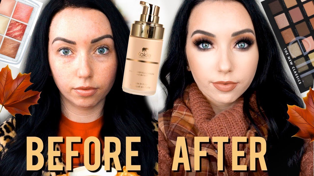 [VIDEO] - FALL MATTE GLAM Transformation | 30 MINUTE Makeup & Outfit GRWM 2