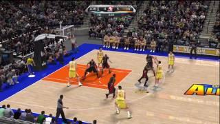 NBA 2K10 (Xbox 360) Gameplay: Team Jordan vs. International All-Stars
