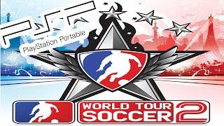 A Look @ World Tour Soccer 2 on PSP!