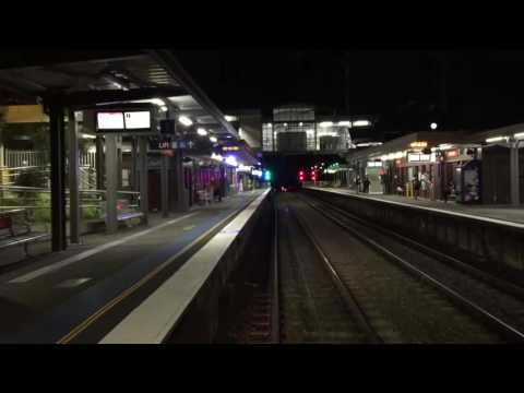 Cronulla to Central Empty Night Service  - REALTIME