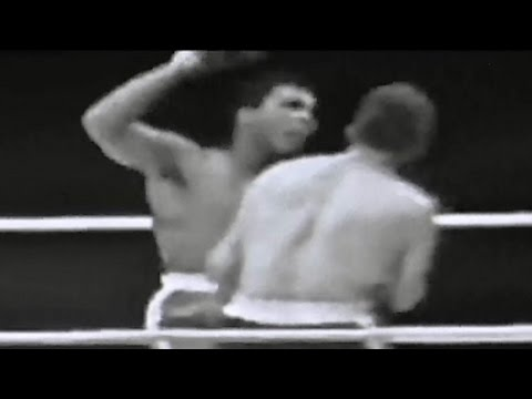 The Great Henry Cooper DEMOLISHES Muhammad Ali with a left hook