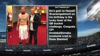 Carson Palmer's Unsightly Gift from Matt Barkley | NFL