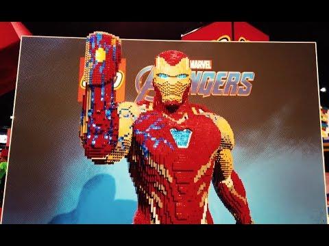 LEGO Built a 35,000 Piece Life-Sized 'Avengers: Endgame' Iron Man