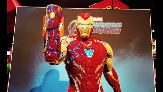 Iron Man Life-Size Model Interview - LEGO MARVEL SUPER HEROES - LEGO Model Shop