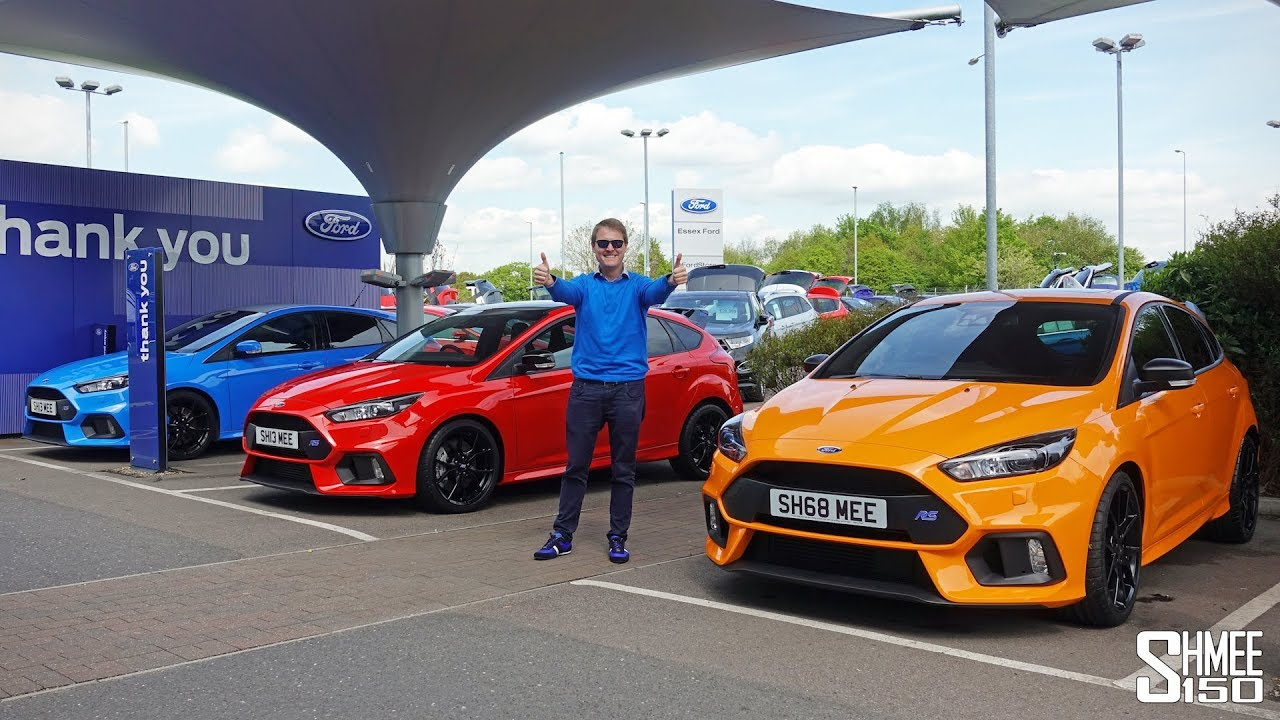DOUBLE COLLECTION DAY! My New Focus RS Heritage and Red Editions - YouTube