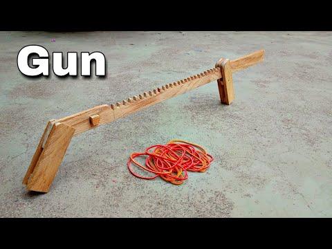 Rubber band machine gun   Easy