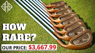HOW EXPENSIVE AND RĄRE ARE THESE PING COPPER IRONS!?