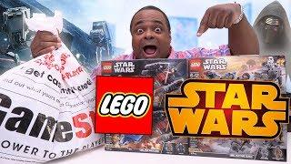 LEGO GIVEAWAY & STAR WARS HAUL!