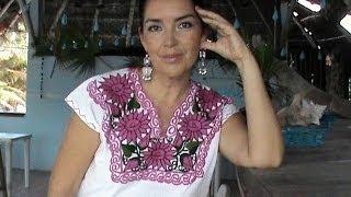 La belleza de la blusa mexicana PARTE 1