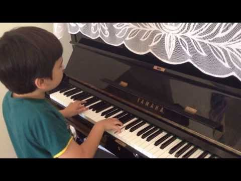 Joel plays Left Hand Drive by K Bailey on the Piano