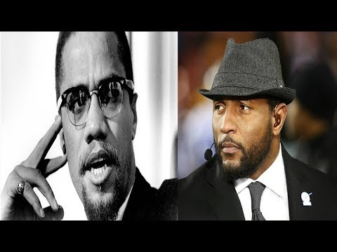 MALCOLM X TELLS US ABOUT:RAY LEWIS, STEPHEN A. SMITH, JASON WHITLOCK & COMPANY