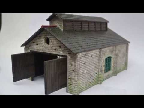 Engine Sheds for Model Railways, Building Kit Overview