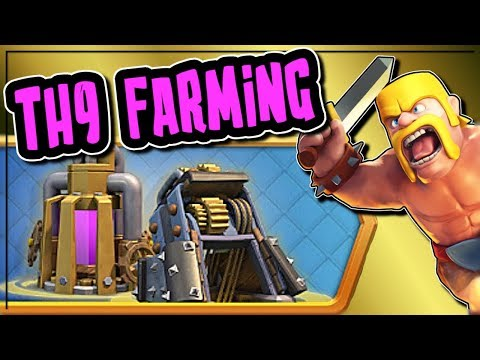EFFICIENT TH9 FARMING STRATEGY | WHAT LEAGUE HAS THE MOST LOOT | Clash of Clans