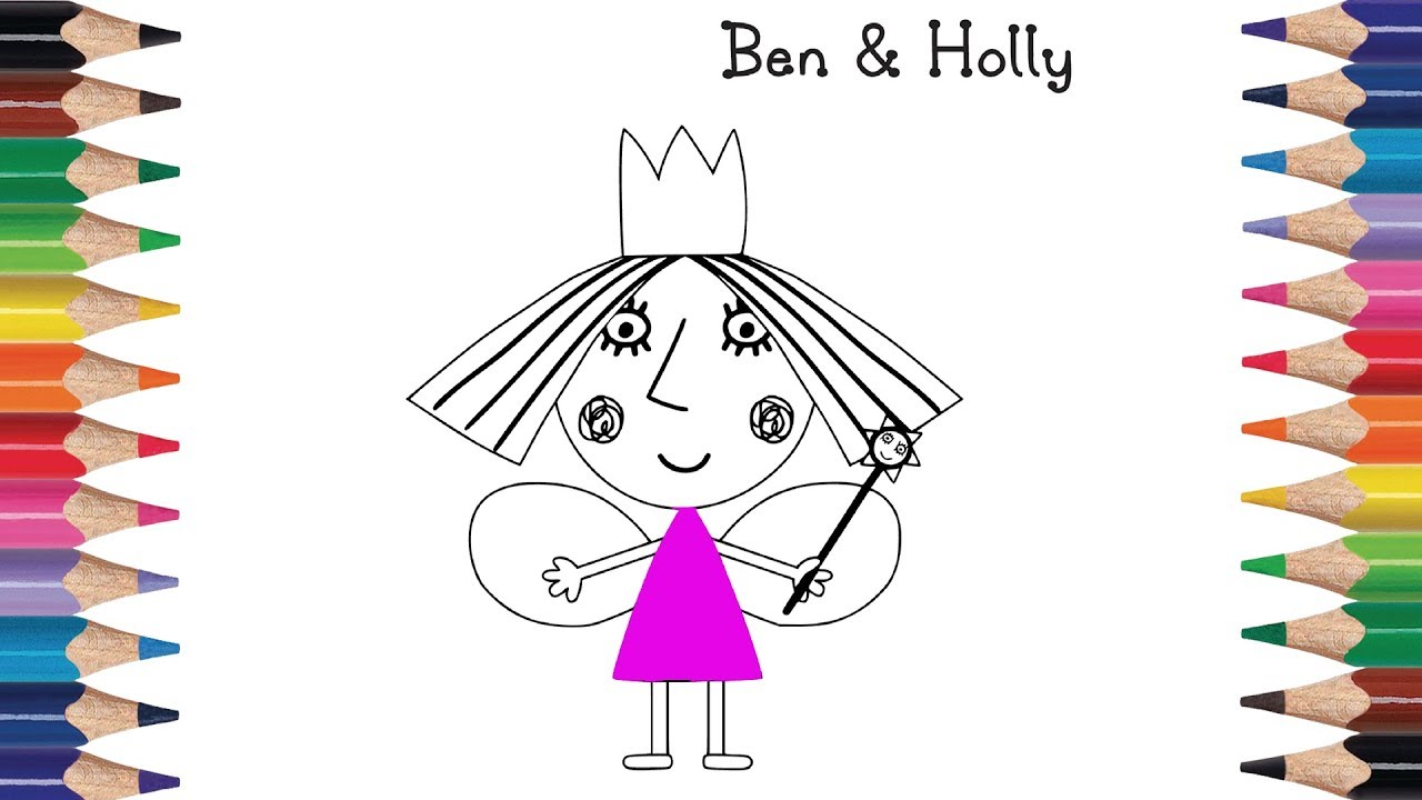 How To Draw Ben And Holly's Little Kingdom   Princess ...