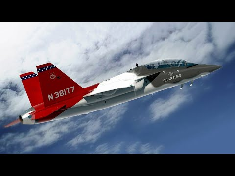 Boeing T 7 Red Hawk - The Future Main Jet Training Of The US Air Force