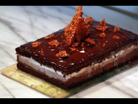 Recette du gâteau aux 3 chocolats par Mamy Monica