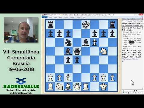 [Xadrez] VIII Simultânea Comentada, 19-05-2018