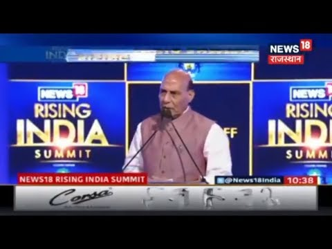 """#News18RisingIndia """"India Will Soon Be Among The Developed Countries """" - Rajnath Singh"""