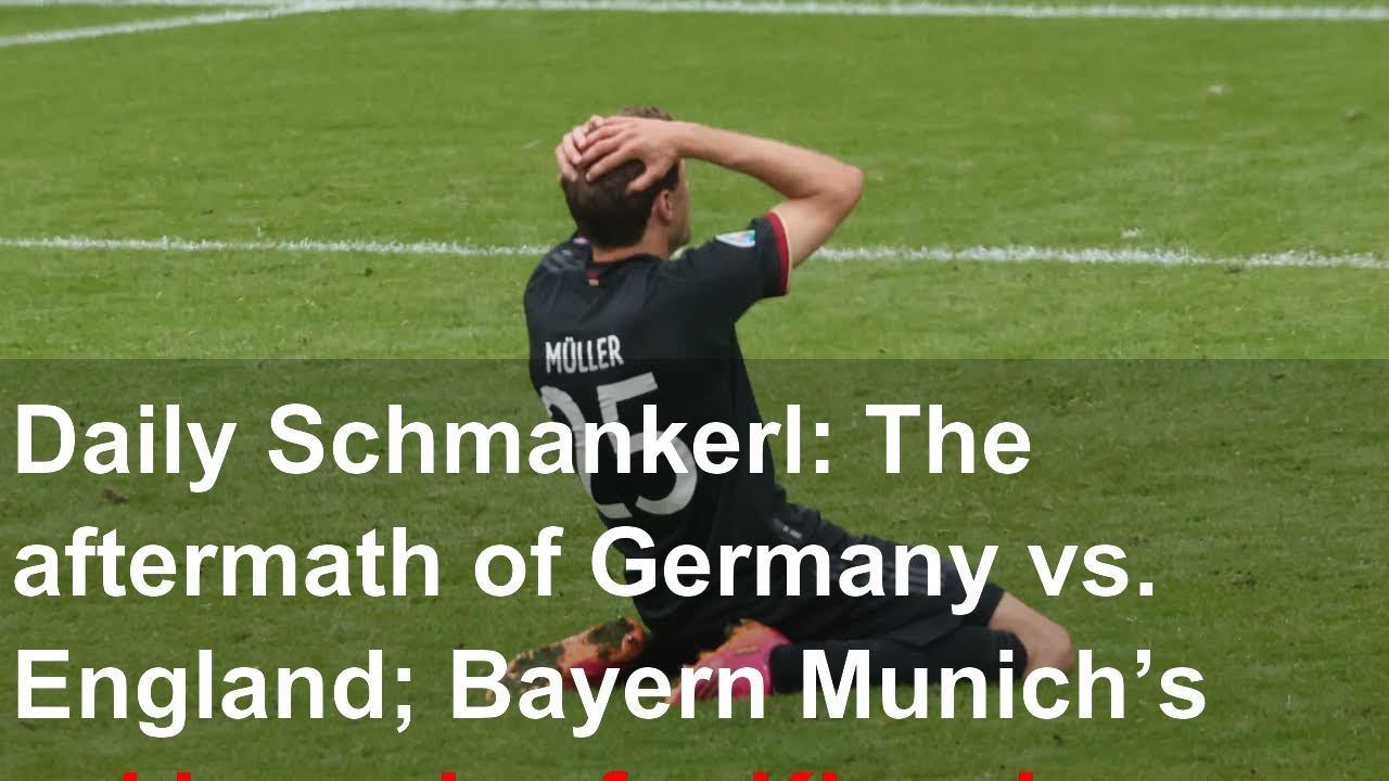 Daily Schmankerl: The aftermath of Bayern Munich vs. Borussia ...