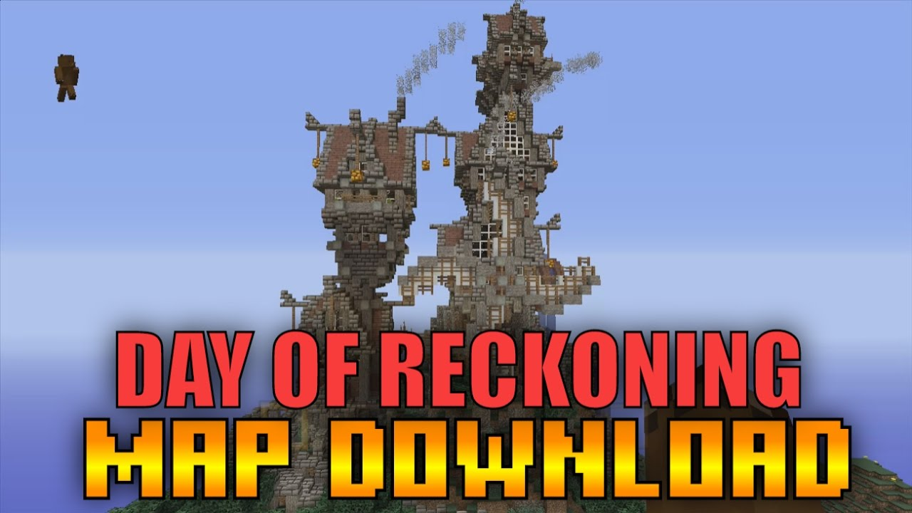 Minecraft Xbox 360PS3  DAY OF RECKONING ADVENTURE MAP SHOWCASE