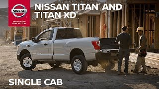 Nissan Titan Single Cab Overview