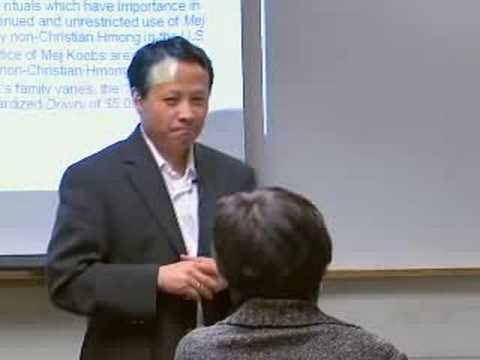 Hmong Marriage Ceremony (Lecture)