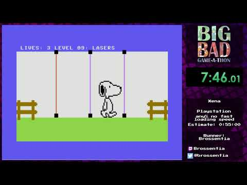 Big Bad Game-a-thon 2017 - Snoopy by Brossentia