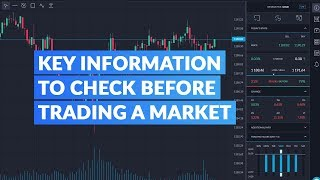 Key Information to Check Before Trading a Market
