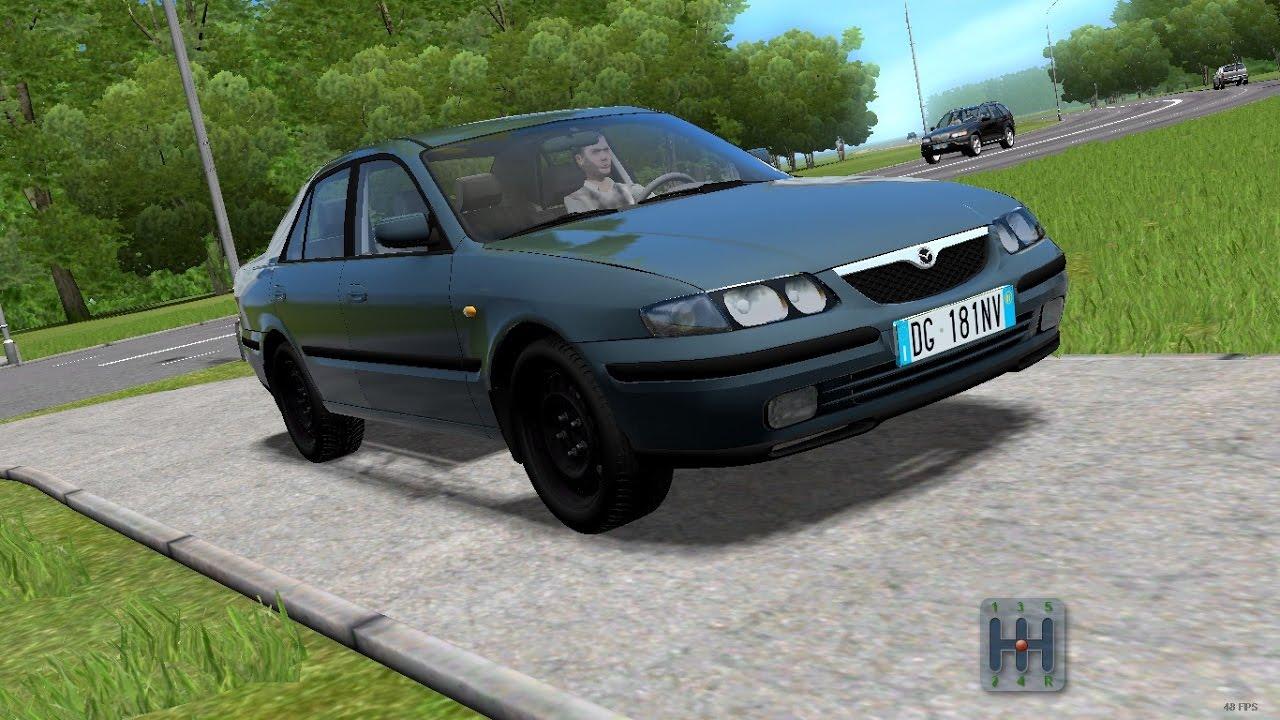 City Car Driving 1 5 4 Mazda 626 Gf 2 0i 1999 Custom Sound 1080p Youtube