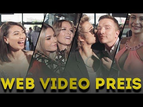 Schabernack auf dem WEB VIDEO PREIS 2017 | Julien Bam, Mrs Bella, Dagi Bee, inscope21