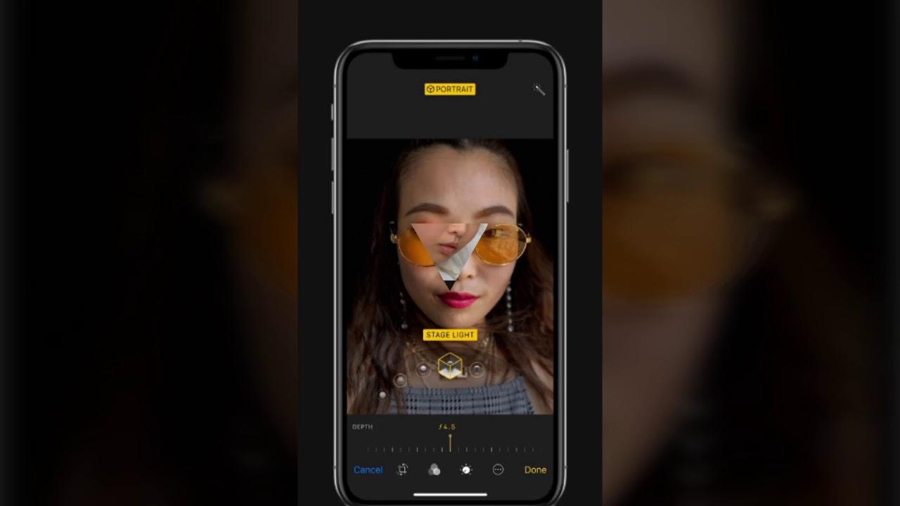 фоторедактор на айфон размывает фон фото слезы
