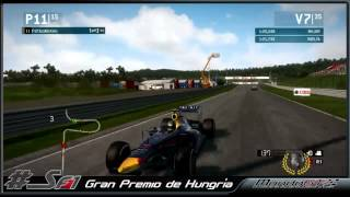 F1 2014 Hungaroring 2do Campeonato #SF1 GP Hungria