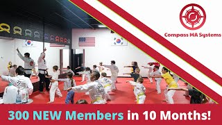 300 Members in 10 months! Compass Martial Arts Systems screenshot 1