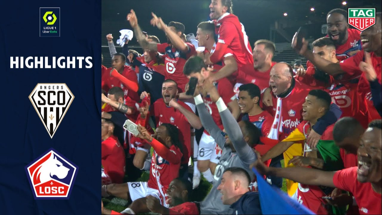 Download ANGERS SCO - LOSC LILLE (1 - 2) - Highlights - (SCO - LOSC) / 2020-2021