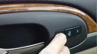 HOW TO OPERATE YOUR MEMORY SEAT ON A BUICK ENCLAVE