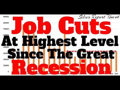 2019 Job Cuts Reach The Highest Level Since The Great Recession