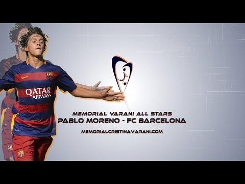 Pablo Moreno | FC Barcelona | Goals & Skills