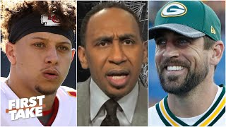 Stephen A. argues why Aaron Rodgers is more valuable than Patrick Mahomes | First Take